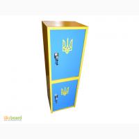 Сейф бухгалтерский Украина, двухсекционный
