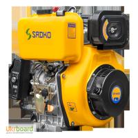 Двигатель дизельный Sadko (Садко) DE-440Е. 12.0 л.с. Электростартер. Гарантия. Доставка