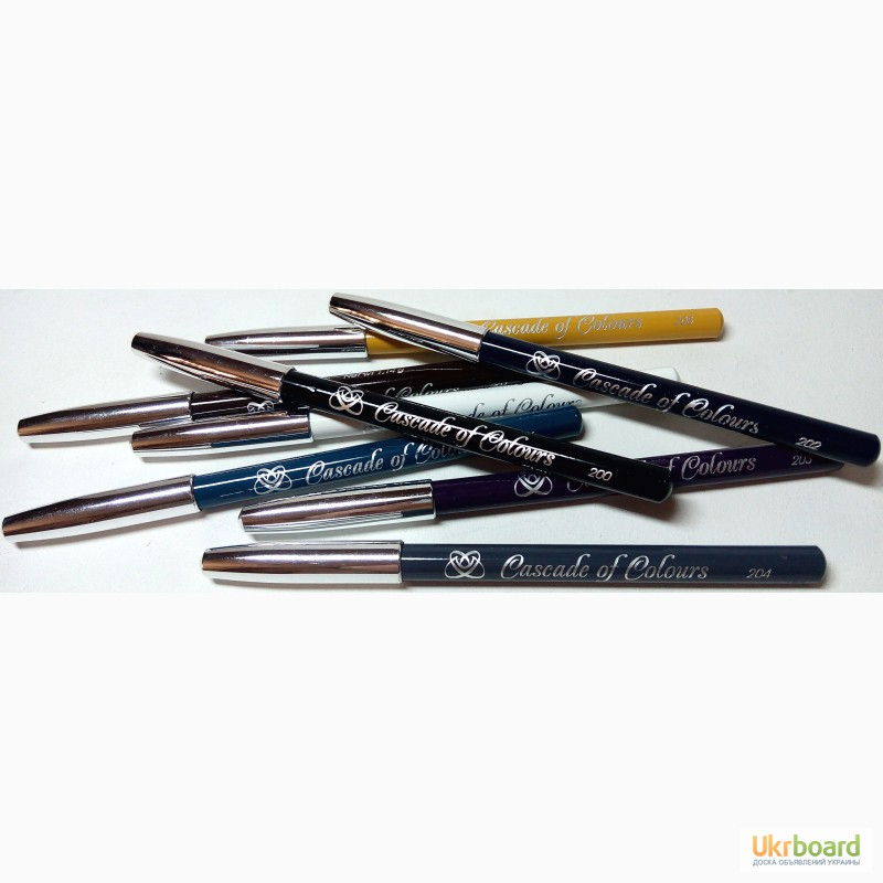 Фото 3. Оптом косметические карандаши для бровей, глаз и губ Cascade of Colours