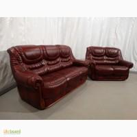 2+3 кожаный комплект мебели
