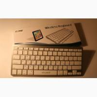 Bluetooth клавиатура для планшетов, смартфонов и пк AT-3950 Эргономичная, удобная красивая