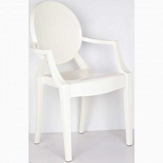 Стул Кресло Дорис белый пластик