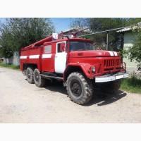 Пожарная машина АЦ 40 на базе ЗИЛ 131