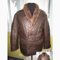 Натуральная мужская куртка - дублёнка. Испания. Лот 19