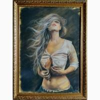 Картина автора Ветер страсти-пастель, 70х50