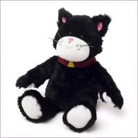 Мягкая игрушка-грелка Кот Черныш, ТМ Warmies (Intelex)