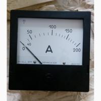 Амперметр Э365 200А 200/5