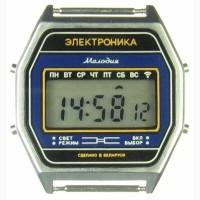 Часы ЭЛЕКТРОНИКА 77А 7 мелодий арт.1159