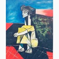 Продам картину Пикассо, мечтающий