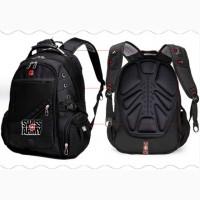 Супер рюкзак Swiss Bag для бизнеса и школы. Супер цена + армейские часы в подарок