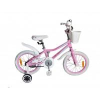 Детский алюминиевый велосипед Leader Kitty 16