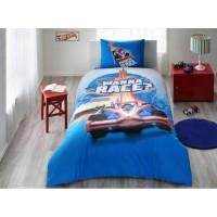 Постель хот вилс гонки тачки Постельное белье Tac Disney Hot Wheels Race подростковое