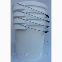Ведро пищевое пластиковое с крышкой от 0, 5 л. до 30 литров