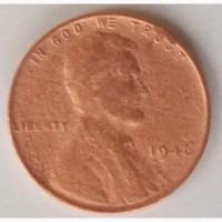 Монета Соединённые Штаты Америки 1 цент 1946