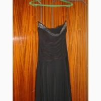 Платье черное итальянское, 44/S размер