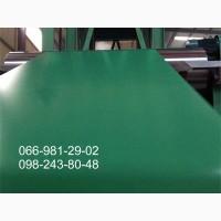 Лист гладкий бюджетный, Лист в рулоне, RAL6005, Лист зеленого цвета, Купить недорого
