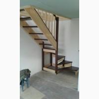 Лестницу из Дерева Недорого Эконом Вариант Деревянной Лестницы