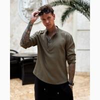 Льняная мужская рубашка / Лляна чоловіча сорочка