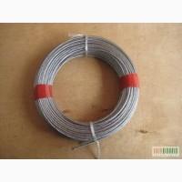 Трос стальной оцинкованный DIN 3052 (1х7) 1.0