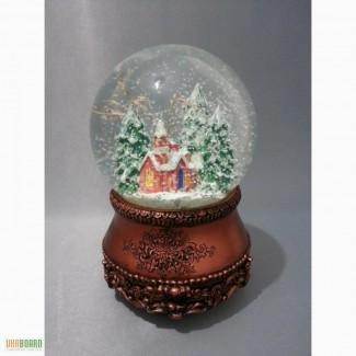Сувенир подарок снежный шар