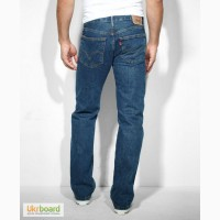 Джинсы Levis 505 Regular Fit Jeans - Dark Stonewash