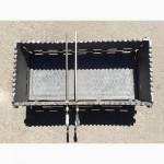 Мангал чугунный большой разборной 70 х 33.5 см., толщина стенок 1 см