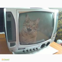 Телевизор переносной, ч/б, Ива-3108, неисправн