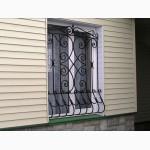 Кованые решетки Киев, кованые заборы, кованые балконы Киев, лестничные перила, козырьки