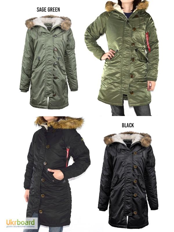 Фото к объявлению  женская куртка-парка ELYSE PARKA Alpha Industries ... b21e178877c1f
