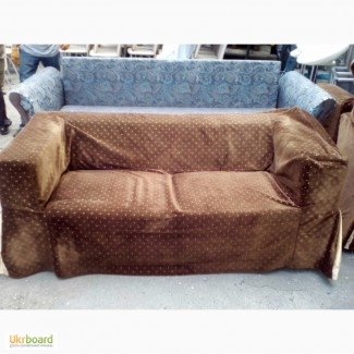 Продам коричневые тканевые диваны бу б/у