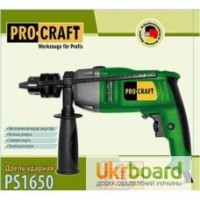 Дрель ударная Procraft PS -1650/ 16 патрон