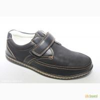 Туфли для мальчика в школу BG арт.BGV17-3 с 33-38 р