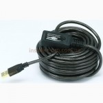 Monoprice USB 2.0 активный кабель 10 м штекер - гнездо