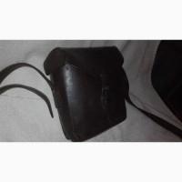 Подсумок музыканта третий рейх, кофр для фото техники, большая кожаная сумка для стиляг