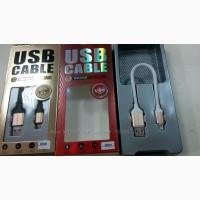 USB дата-кабель коротыш MicroUSB lightning для iPhone 6s 18см USB кабель