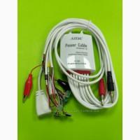 Кабеля для блоков питания AIDA 702 с разъемами для подключения плат iPhone 4G/4S/5G/5S/6G