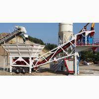 Мобильный бетонный завод Constmach Mobile 30 (30 м3/час)