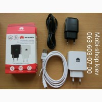 Зарядка Сетевое зарядное устройство СЗУ Huawei с кабелем MicroUSB на 2A