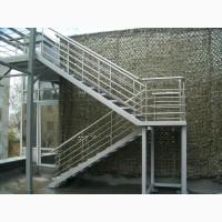 Лестницы металлические Николаев цена фото