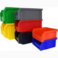 Коробка пластиковая под зачасти на производство