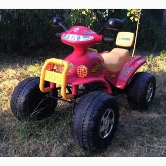 Детский электромобиль двухместный квадроцикл ToyHouse