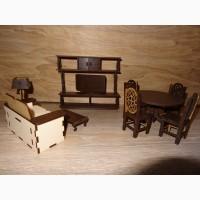 Комплект мебели для кукол Гостиная