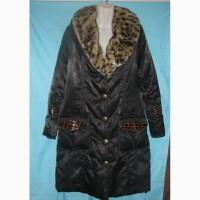Куртка зимняя женская с меховым воротником. Шикарная. Дешево Размер наш 48