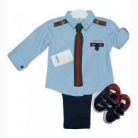 Костюм для мальчика Gucci возраст 1-4 года, Турция
