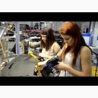 Сборщики автодеталей, женщины, работа в Польше