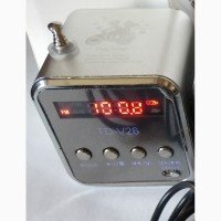 Портативна колонка FM фм радіо МР3 USB micro cd AUX