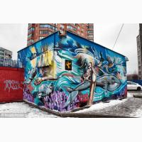 Художественная роспись стен Киев