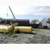 Резервуары, цистерны под гсм и др от 3 до 75 м3