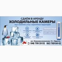 Морозильные камеры -18 -20 градус.-удобная аренда Одесса