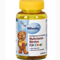 DAS Gesunde Plus Multivitamin-Bärchen 60 шт детский витаминный комплекс
